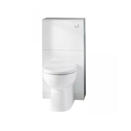 Eastbrook Oslo Floor Standing Wc Unit - 600mm Wide - White